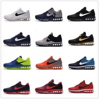 Wholesale Top Selling Cushion - Cheap max 2017 Men running shoes Hot selling Top quality maxes 2017 KPU cushion sneaker for mens Newest release sneaker Size 40-47