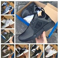 Mesh black mesh net fabric - 2017 New Arrival NMD XR1 Boost Duck Camo Navy White Army Green for Top quality MND III Net Surface Running Shoes Size