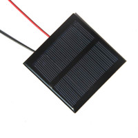 Wholesale module panel - Hot Sale Good Quality Mini Solar Panels V W Solar Module Cell x65MM For Small Power Applianc Toy Panle CM Cable