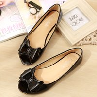 Chaussures Femme Flat Butterfly Knot Loafers Slalow Slip on Sandals Zapatos Mujer Peep Toe Slides Bow Chaussures Confortable Black Pink Apricot Purpl