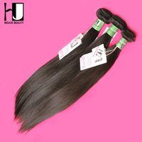 Wholesale Hj Hair - Wholesale-4 Bundles HJ New Arrival 8A Quality Brazilian Straight Hair Virgin Unprocessed Human Hair Can Be Dyed Evenly Free Shipping