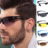 Wholesale Women Professional Wear - Men Driving Cycling Sport Sunglasses Unisex UV Professional Sport Glass Sunglasses Outdoor Bike Eye Wear Sunglasses 6 design KKA1669