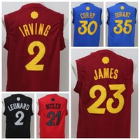 Wholesale Cheap Uniform Shirts For Men - Cheap Hot 23 LeBron James Jersey Christmas Day Basketball Jerseys 2016 Xmas 2 Kyrie Irving 0 Kevin Love Shirt Uniforms For Sport Fans Red