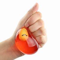 gelkugeln spielzeug großhandel-Stress Squeeze Relief Ball Kinderspielzeug Soft Gel Ei Stress Ball Hand Finger Übung Therapie Dekompression Spielzeug