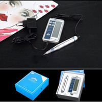 Wholesale Machine Kits Make Up - Fast Shipping Digital Permanent makeup Cosmetic Kits eyebrow microblading pens lip eyebrow eyeline cosmeticos make up machine