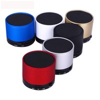 Wholesale Ipad Mini Rca - Bluetooth Speaker S10 Mini Wireless Portable Speakers Music Player Home Audio for ipad iphone 5 6 Galaxy S5 NOTE 3 MP4