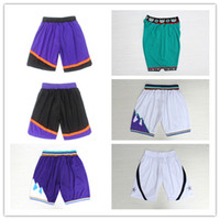 Wholesale White Basketball Pants - New 2017 Brand Swingman Rev 30 Men Basketball Shorts Green Purple White Black Blue Red Running Sports Pants Cheap Embroidery Logo Breathable