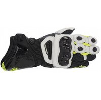 Wholesale Long Waterproof Gloves - Newest printing GP PRO motorcycle sports racing gloves materials long style leather motorcross motorbike gloves M L XL