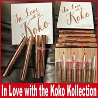 Wholesale Wholesale Doll Kits - New Kylie Koko Kollection 2 lipstick collection kit In Love With The Koko 4 Piece Doll Bunny