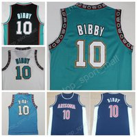 Hot Sale 10 Michael Mike Bibby Jersey Men Throwback Stitched Mike Bibby Basquete Jerseys Sports Breathable Vintage Quality Frete Grátis
