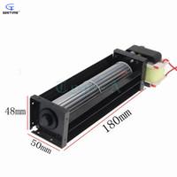 Wholesale fan flow - Wholesale- Gdstime HL30150 180mm*50mm*48mm AC 220V 10W 0.08A Crossflow Cross Flow Fan