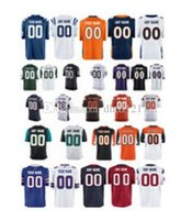 Wholesale CUSTOM Mens Youth women toddler Elite game Personalized ANY NAME AND NUMBER JERSEY Stitched sport football jerseys size S XL
