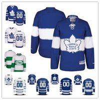 Wholesale Womens Winter Classic Jersey - Stitched Custom Toronto Maple Leafs mens womens youth White Green Home Royal Blue 2017 Centennial Winter Classic Third Hockey Jerseys S-4XL