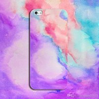Para iPhone 7 Plus Case 3D Graffiti Aquarela Pintura tpu capa de capa macia para iphone7 6 6s mais 6plus 5 5s se Cases