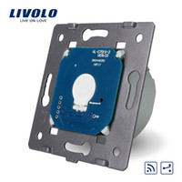 Wholesale LS Livolo EU Standard Gang Way Touch Remote Switch Without Glass Panel v V LED Indicator VL C701SR
