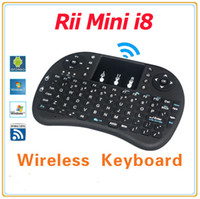 I8 mini tastiera Versione italiana i8 + Air Mouse tastiera a mano multifunzione a distanza Touchpad per Android TV BOX PC Mini PC PC