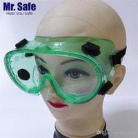 Wholesale Defense Sprays - MrSafe goggles anti-fog air defense sand shock resistance chemical acid spray paint splash labor protection glasses
