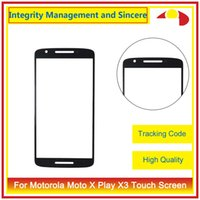 Wholesale Touch Screen Digitizer For X3 - For Motorola Moto X XT1055 X+1 X2 XT1097 X Play X3 XT1561 X Style X3 Front Outer Glass Lens Touch Screen Panel Digitizer
