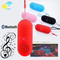 Wholesale Iphone Fashion Button - 2016 Fashion Wireless Bluetooth Mini Super Bass Speaker With FM Radio for iphone 6 7plus samsung s6 s7 edge note5