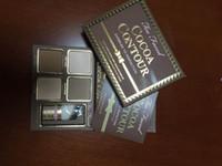 palet kontürü toptan satış-Ücretsiz Kargo ePacket! SıCAK yeni makyaj Kakao Kontur Mükemmellik için Kesilmiş Yüz Şekillendirme Vurgulama Kiti Bronzlaştırıcılar Fosforlu