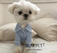 Wholesale Pet Pajamas Small - Korean French dog pajamas Bichon Frise bear bull terrier, small dog Victoria the secret pet dress