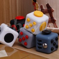 Wholesale 2017 New Popular Decompression Toy Fidget cube the world s first American decompression anxiety Toys In stock Fast Shipping
