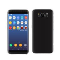 Wholesale Android Cell Phone T Mobile - New version 16GB Goophone S8 S8+ plus Real Fingerprint Android 7.0 Unlock Smart Cell Phones Show Octa core T mobile 4G LTE