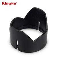 Wholesale hood material - Wholesale- KingMa Camera Lens Protector Petal Sun Hood Sun Hood Sunshade For DJI Phantom 3