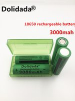 3.7v 3000mah Dolidada Neuf 18650 batterie 3.7V 3000mAh batterie rechargeable Li-ion pour lampe torche Led Outils jouets 18650 batery