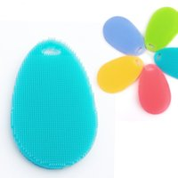 Wholesale Computer Gel Cleaner - Cleaning Brushes Food Grade Multi Function Silica Gel Silicone Pad Dishwashing Repeated Use Scald Proof Anti Hot 4 5ka