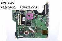 Wholesale motherboard hp pavilion - Classy Motherboard For HP Pavilion DV5-1000 Laptop with Chipset GM45 & Socket PGA 478 PN: 482868-001 DDR2 100% Fully Tested
