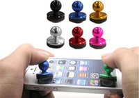 Wholesale Ipad Mini Small - Mini joystick Tactile Mobile Games Controller Small Size Stick for iPhone iPad Android Mini Rocker by dhl