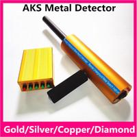 Wholesale Long Range Detector Gold - High Quality AKS underground Gold Detector Long Range Gold Diamond Detector AKS 3D Metal Detector Gold Digger