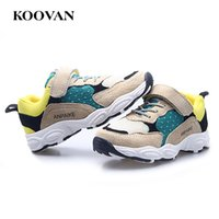 Hot Sale Flock Leather Sneakers Running Shoes Sneaker respirável para crianças Atacado 2017 Hot Sale High Quality Mesh ClothBig Kids Shoes K232