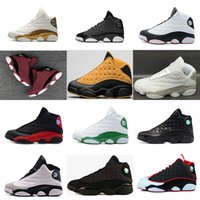 Wholesale Cheap Winter Cats - cheap Retro 13 Chicago DPM Bred Basketball Shoes men 13s Black Cat He Got Game Flint Playoffs Hyper Pink Sneakers With Box