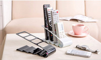 Tools black storage coffee table - Coffee table TV remote control storage rack creative office desk storage shelves desktop storage box