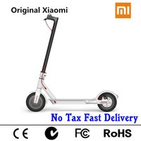 Wholesale electric skateboard motor - 2017 Original XiaoMi Mijia Electric scooter hoverboard Electric Skateboard Adult Foldable bike Mini Motor Scooter Steering wheel