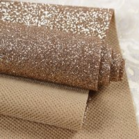 Wholesale Class Decor - Wholesale-( Width 1.38meter , Length 48 meter ) First Class Glitter wallpaper For Home Decor High quality sparkly Wall cloth