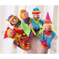 Wholesale Small Baby Hand Fingers - Wholesale-Even small finger puppet toy hand puppet baby educational toys early childhood scene storytelling necessary