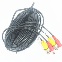 Wholesale Dc Meter Dual - CCTV Cable 18 meters with BNC Video & DC Powerfor CCTV Security Camera System
