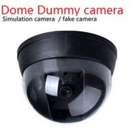 Wholesale Outdoor Dummy Dome Cctv Cameras - Wireless Home Security camera Fake Camera Surveillance indoor outdoor Waterproof IR CCTV Dummy Dome fake Surveillance security camera