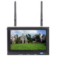 Wholesale Motor Dvr - Skyzone 7 inch monitor receiver RC700D 720 x 576 5.8GHz 32CH FPV Monitor & Diversity Receiver SKY-700D with DVR Recording