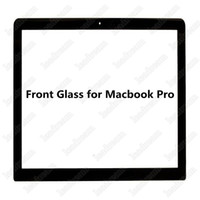 "Wholesale Replacement Macbook - For MacBook Pro 13"" 2009 2010 2011 2012 Front Outer Glass Screen Glass Lens Replacement Parts Free DHL"