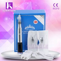 Wholesale Digital Permanent Makeup Tattoo - Korea Newest Digital Tattoo Permanent Makeup Machine For Salon Use Permanent Makeup Device with Adjustable needles