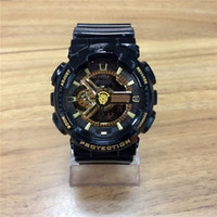 Wholesale Plastic Rocks - 2017GA110 outdoor rock climbing movement G watches, LED digital display S, men's quartz watches, 9 models NEW