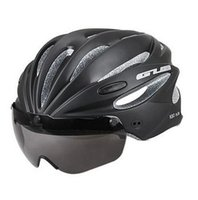 Wholesale Helmet Gub - free shipping GUB K80 PLUS bicycle helmet goggles Cycling goggles Magnetic suction goggles helmet