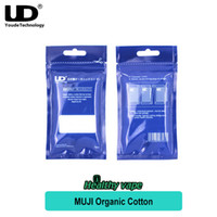 Wholesale Wholesale Japanese Accessories - Original UD Muji Organic Cotton Accessories for RDA RTA RBA Rebuildable Atomizers Pure Japanese Organic Cotton