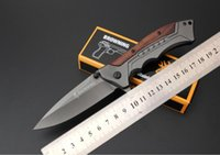 Wholesale Fa Free - Free shipping Browning FA - 24 quick opening folding knife 5 cr15mov blade processing Outdoor camping survival quick-opening professional to