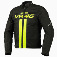 Wholesale Reflective Motorcycle Jackets - Hot Sale Motorcycle Jackets VR46 Rossi MotoGP Off Road Racing Breathable Reflective Jacket Motorbike motocross protective jacket