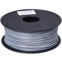 Wholesale Filament Extruder - silver color 3d printer filament 1.75mm PLA filamento impressora 3d printer extruder for Createbot ,Makerbot, RepRap,etc